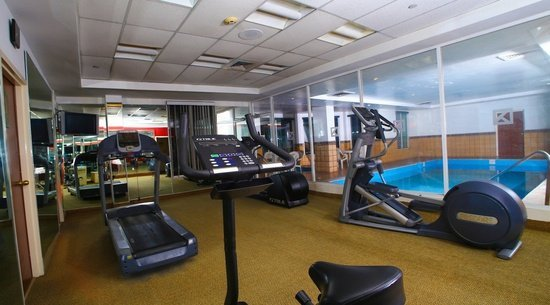 Fitness center Krystal Urban Cd. Juárez Hotel -