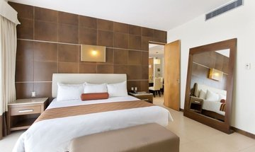 Suite king Krystal Urban Cancún Hotel -