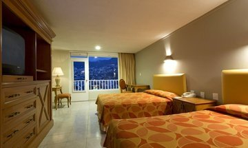 Double room Krystal Beach Acapulco Hotel -