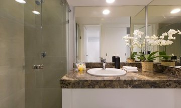 Bathroom Krystal Beach Acapulco Hotel -