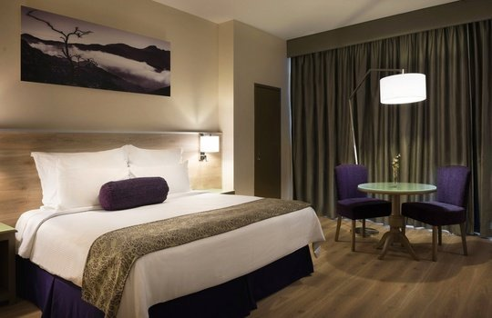 King Junior Suite Krystal Monterrey Hotel -