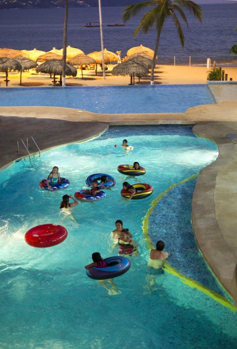 Swimming Pool Krystal Beach Acapulco Hotel